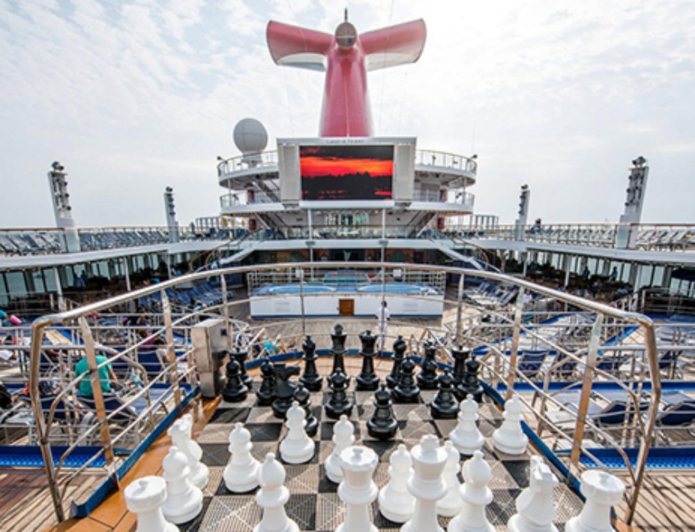 'Carnival Victory' gets a makeover