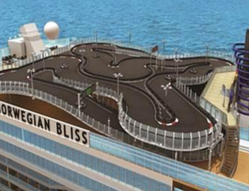 Largest race track at sea