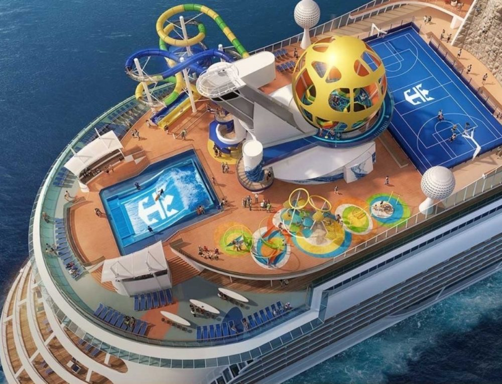 Royal Caribbean unveils revamped 'Mariner of the Seas'