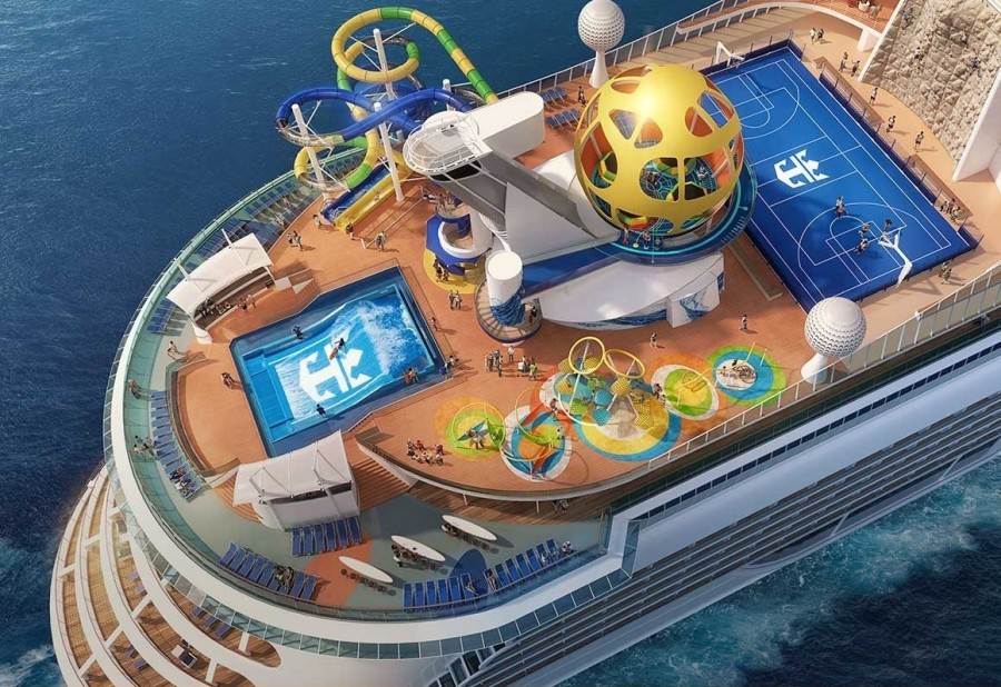 Royal Caribbean unveils revamped 'Mariner of the Seas ...