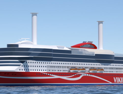 'Viking Grace' becomes first ropax to use a rotor sail