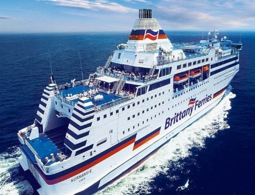 Brittany Ferries tests composite scrubber unit