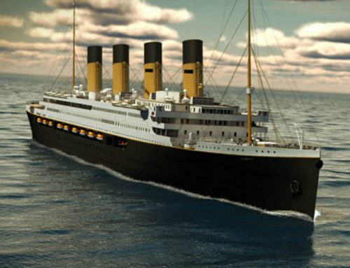 Work restarts on 'Titanic II'