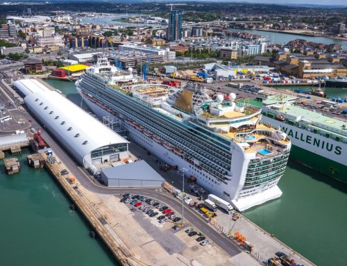 Terminal upgrade begins at Southampton