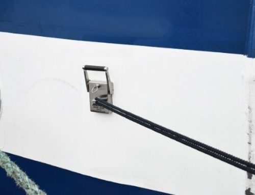 'Silver Cloud' uses mooring magnets for excursion boats