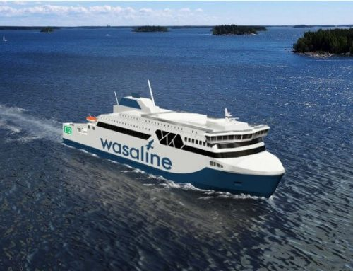 Foreship behind Super Ice Class ferry design