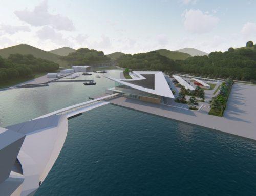 Berenblum designs Uragashira cruise terminal