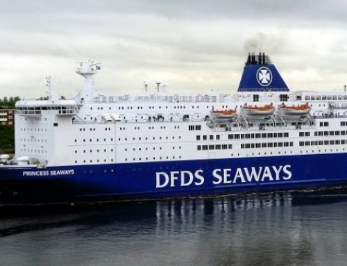 DFDS – a major Solar Solve customer