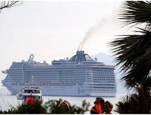 Cruise ship climate footprint is worsening