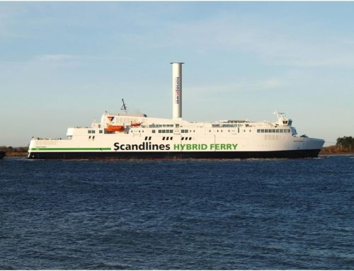 Ferry to be fitted with a rotor sail