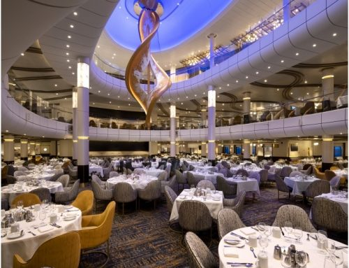 tennagels fits 'Spectrum of the Seas' with first LED walls at sea