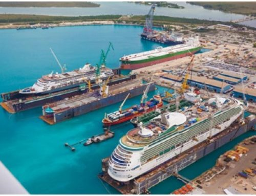 Grand Bahama Shipyard re-opens