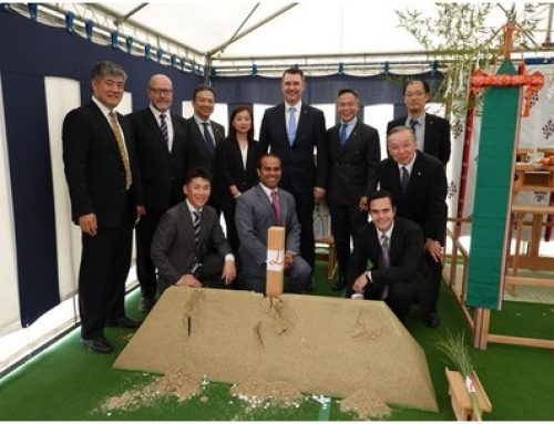Carnival Corp breaks ground on Sasebo cruise terminal