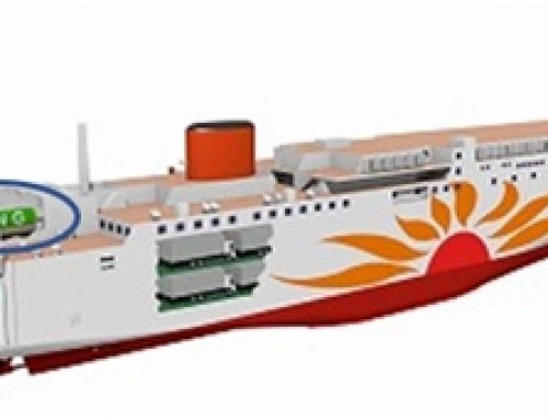 Japan's 1st LNG-fuelled ferries