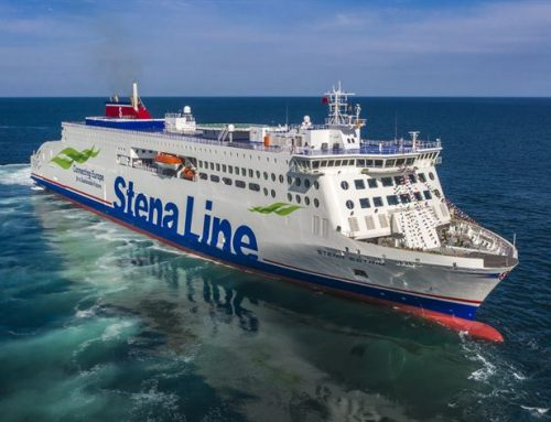Stena takes delivery of first of 'E' class ropaxes