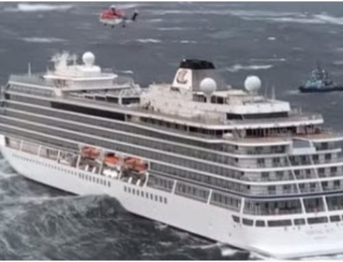 'Viking Sky' very close to  grounding
