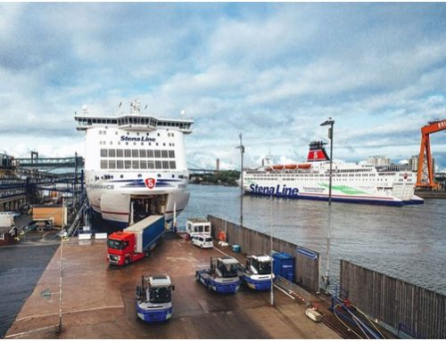 Stena in data management project