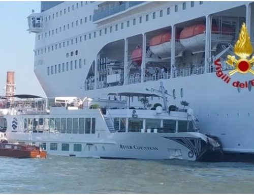 Uniworld takes MSC to Court over Venice collision