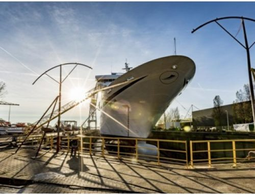 Three CMV ships dock at Amsterdam repair facilities