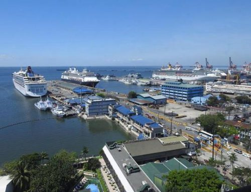 Cruise ships arrive off Manila