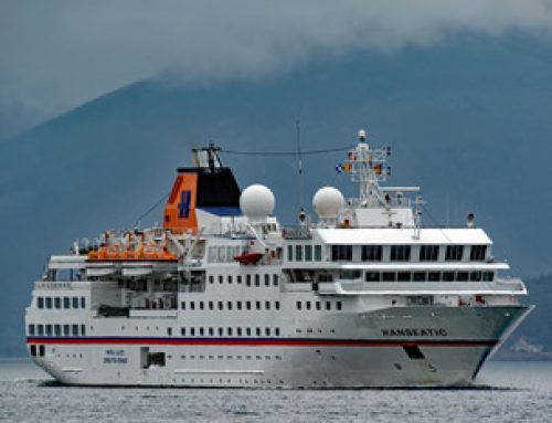 Expedition cruise ship sinks Venezuelan patrol boat