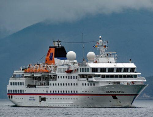 Expedition cruise ship sinks Venezuelan patrol boat