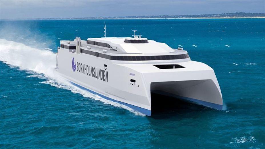 Molslinjen's large fast ferry to be powered by Wärtsilä
