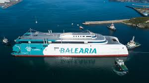 LNG powered catamaran ferry launched