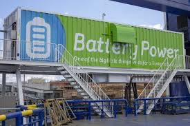 Stena to reuse recycled batteries in ports