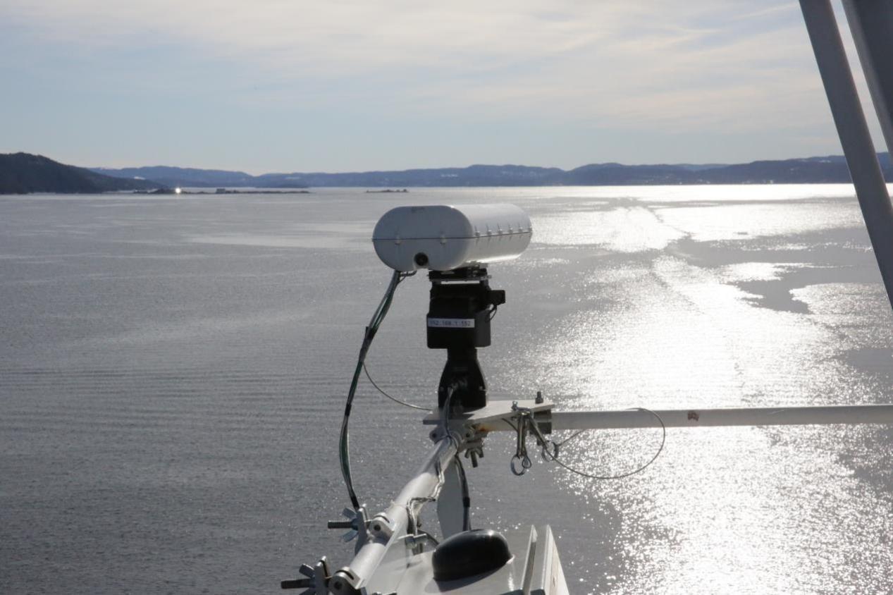 Anti-collision technology under test