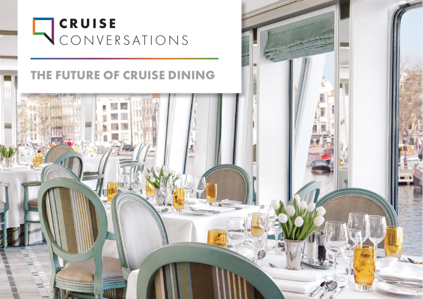 New White Paper on the Future of Cruise Dining