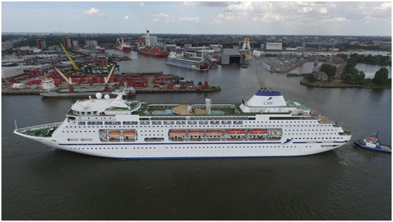 Cruise ships change hands