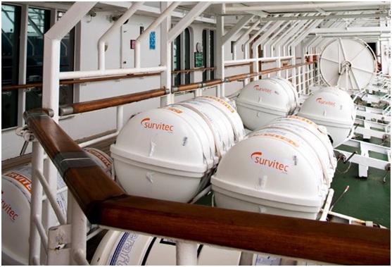 Survitec upgrades liferaft rental and servicing scheme