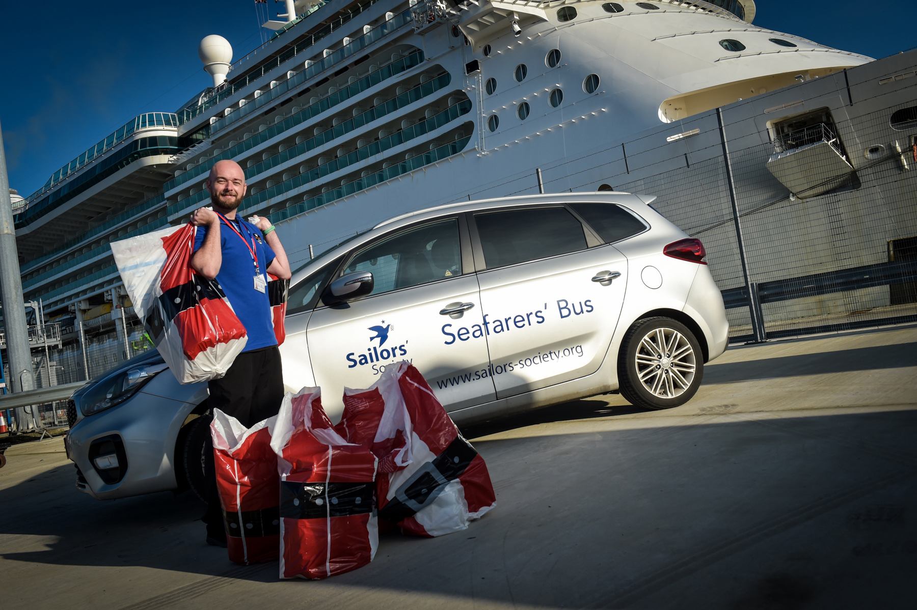 Christmas comes to cruise ship seafarers trapped at sea