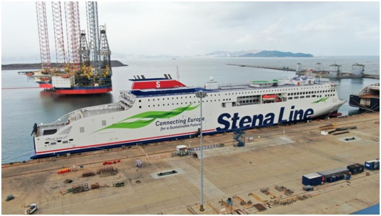 Stena Line takes delivery of third new ferry