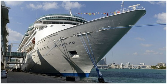 Two RCI cruise ships to stay in British Virgin Islands