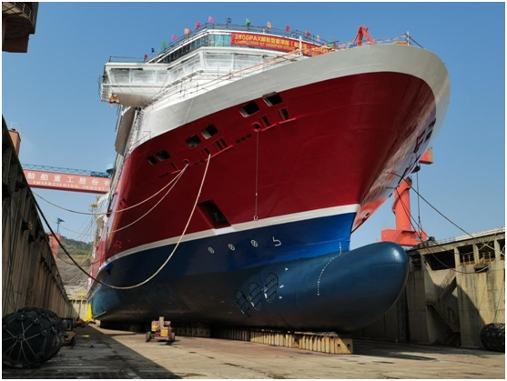 Environmentally friendly ropax 'Viking Glory' launched
