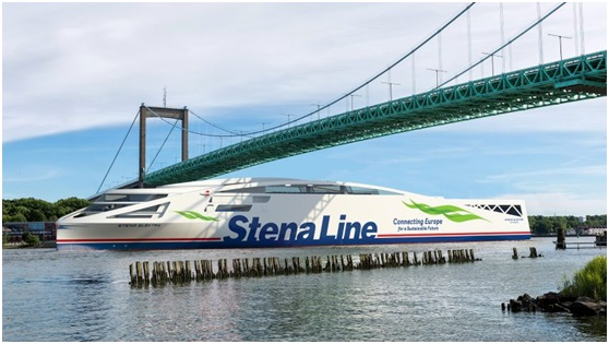 Stena to introduce battery powered ropaxes