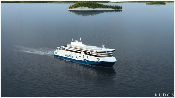 Wasaline's new ferry to have high speed internet service