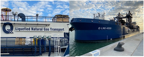Port Canaveral receives LNG bunker vessel