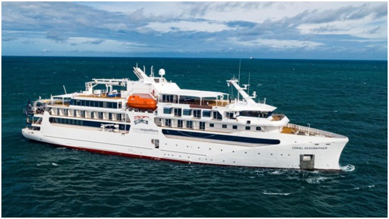 VARD hands over second Coral Expeditions ship