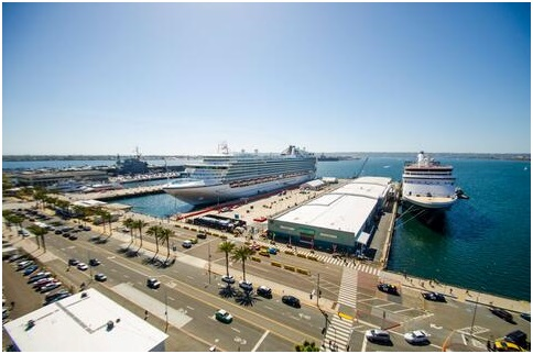 San Diego to double cruise terminals' shore power