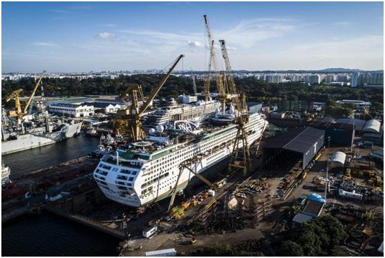 De Wave refits three P&O Cruises Australia ships