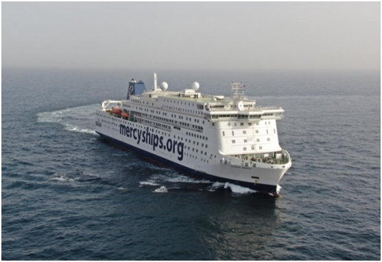 Hospital ship 'Global Mercy' completes sea trials