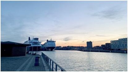 DFDS' Copenhagen ropaxes to receive shore power