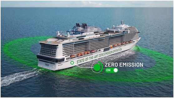 Fuel cells enable ships to arrive in port emissions free