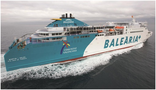 LNG powered 'Martin i Soler' returns to service