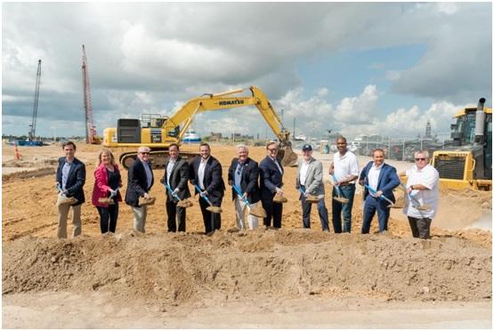 Construction starts on RCI's new Galveston terminal