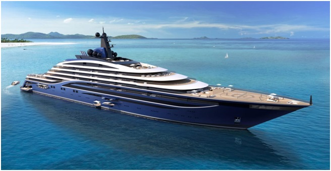 Tillberg and Winch Design behind world's largest private residence superyacht