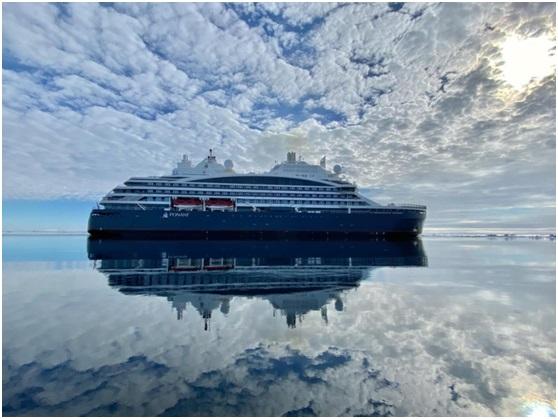 Eksfin provides loan guarantees for PONANT's hybrid cruise ship